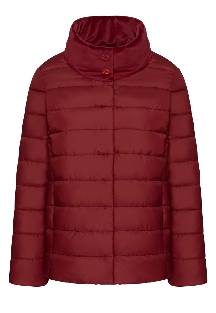 Купить со скидкой Утепленная куртка, цвет бордовый