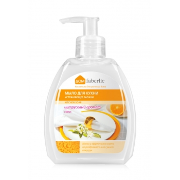 Odour Eliminating Liquid Kitchen Soap Citrus Scent