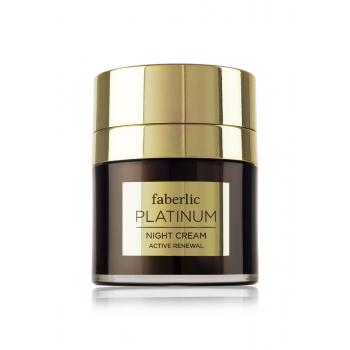 Platinum Active Renewal Night Cream
