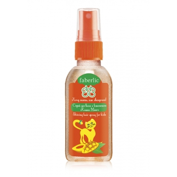 Mango Cat Hair Shine Spray For Kids