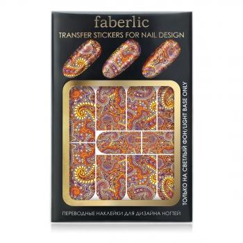 Переводные наклейки для дизайна ногтей Сказки Шехерезады