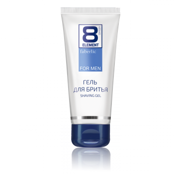 8 ELEMENT SHAVING GEL