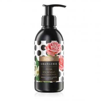 Жидкое мыло для рук Роза и Сандал серии Orangerie