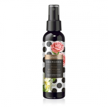 Увлажняющая вода Роза и Сандал серии Orangerie