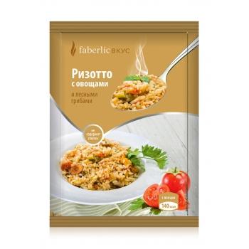 Продукт моментального приготовления  Ризотто с овощами и лесными грибами