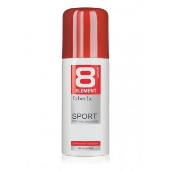 8 Element Sport Perfumed Deodorant Spray for Men