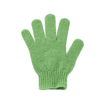 Перчатка для душа зеленая Faberlic