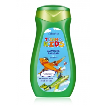 Techno Kids 2in1 Shampoo  Conditioner