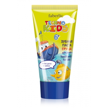 Techno Kids Toothpaste pear flavor