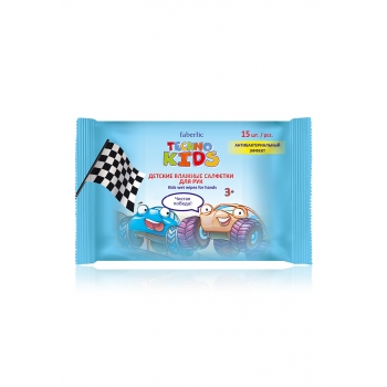 Techno Kids Wet Wipes