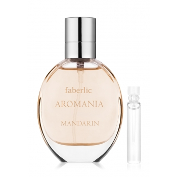 Faberlic AROMANIA MANDARIN Eau de Toilette For Her test sample