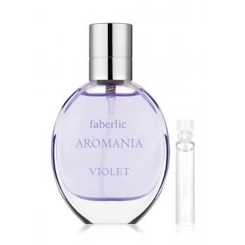 Faberlic AROMANIA VIOLET Eau de Toilette For Her test sample