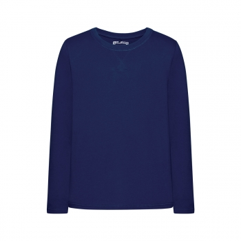 Long sleeve Tshirt for boy dark blue