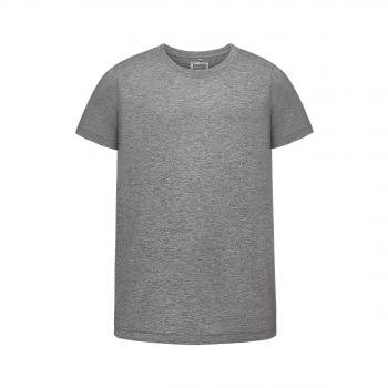 Трикотажная футболка для мальчика цвет серый меланж