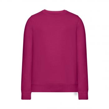 Knitted jumper for girl magenta
