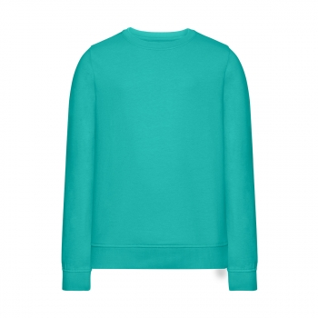 Knitted jumper for girl menthol