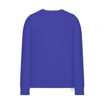 Трикотажный пуловер для девочки цвет яркосиний