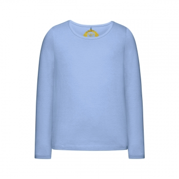 Girls Long Sleeve Tshirt light blue