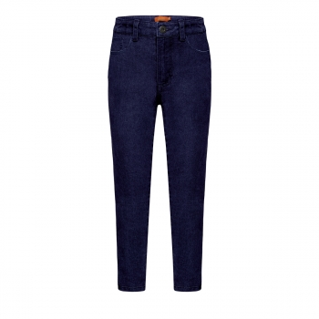 Denim trousers for girl dark blue