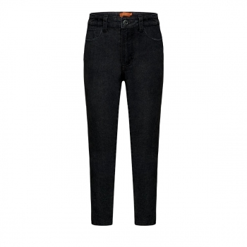 Denim trousers for girl black