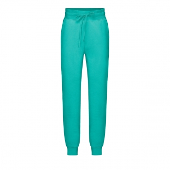 Jersey trousers for girl menthol