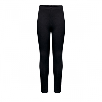 Jersey skinny trousers for girl black