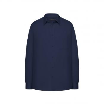 117M2601 Krekls vīrietim tumši zilā krāsā ar garām piedurknēm