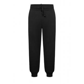 Трикотажные брюки для мужчины цвет черный