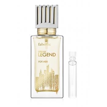 Пробник парфюмерной воды для женщин Urban legend