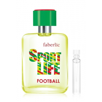 Sportlife Football Eau de Toilette for Him test sample