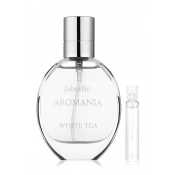 Aromania White Tea Eau de Toilette For Her test sample