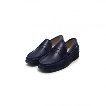 Туфли Oxford для мальчиков синие
