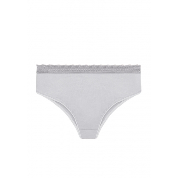 Slip briefs light grey