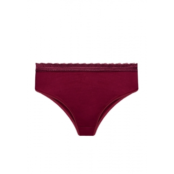 Slip briefs bordeaux