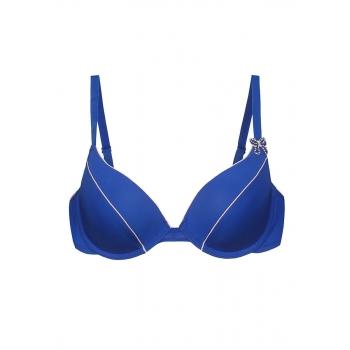 Diva pushup bra blue