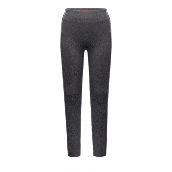 Jersey trousers dark grey melange