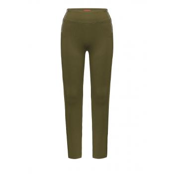 Jersey trousers khaki