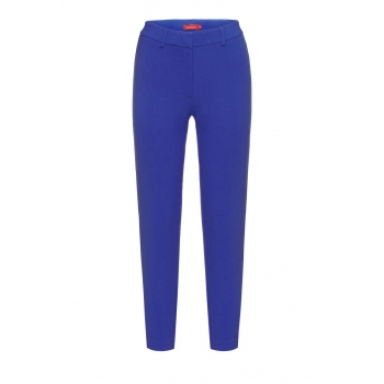 Skinny trousers bright blue