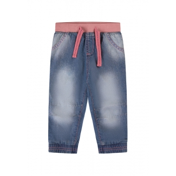 Baby Girl jerseylined jeans