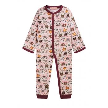 Baby Girl jersey onesie pink