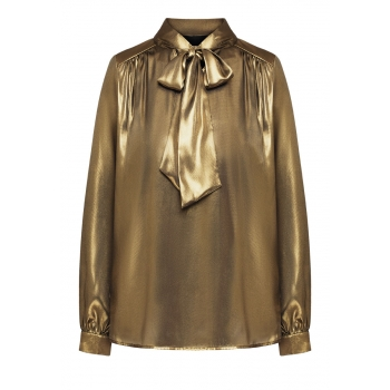 Блузка цвет бронзовозолотистый