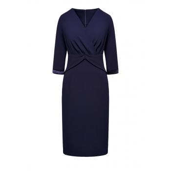 Платье цвет темносиний