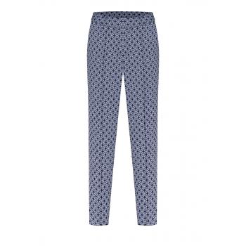 Укороченные брюки цвет сероголубой