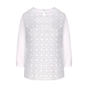 Блузка цвет белый