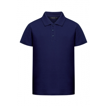 Boys Polo Shirt dark blue