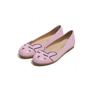 Туфли для девочек Banny розовые