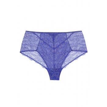 Трусы с завышенной талией Ивэт фиолетовые