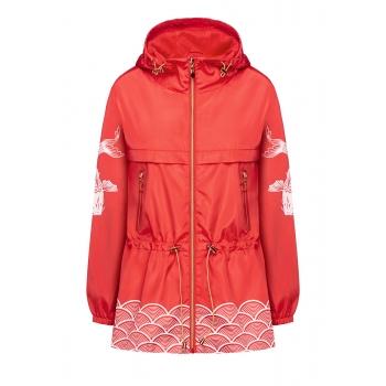 Куртка для женщины цвет коралловый