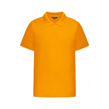 Mens Pique Polo Shirt orange