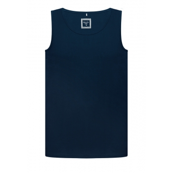 Mens Tank Top dark blue